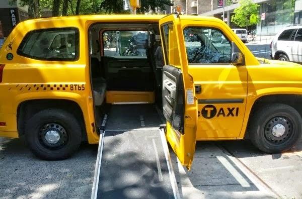 Nova York para os Deficientes físicos
