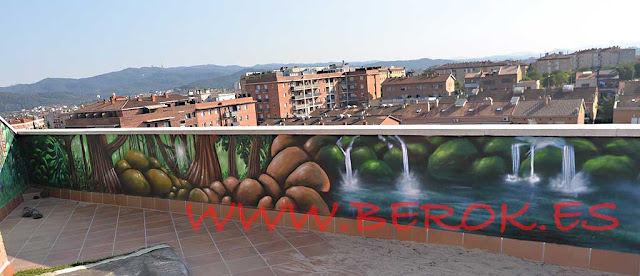 graffitis para patio