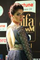 Raai Laxmi in Beautiful Backless Designer Anarkali Gown at IIFA Utsavam Awards 2017  Day 2  Exclusive 26.JPG
