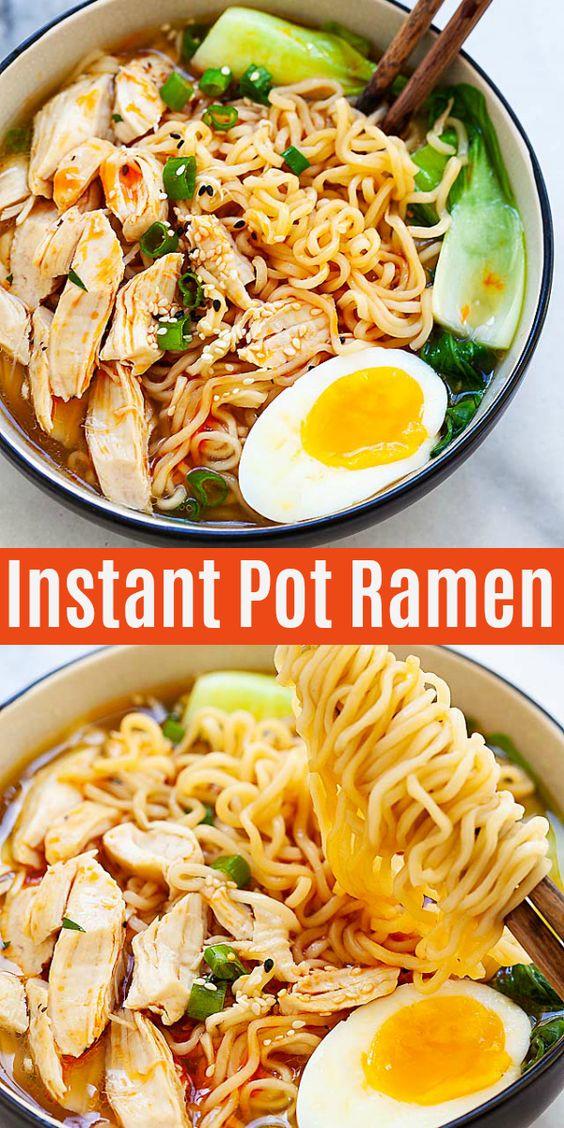 Instant Pot Ramen Recipe