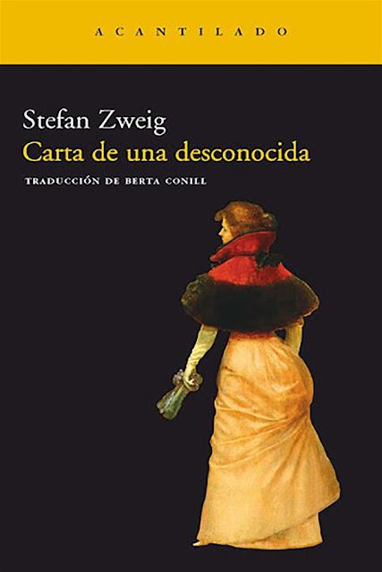 Carta de una desconocida | Stefan Zweig