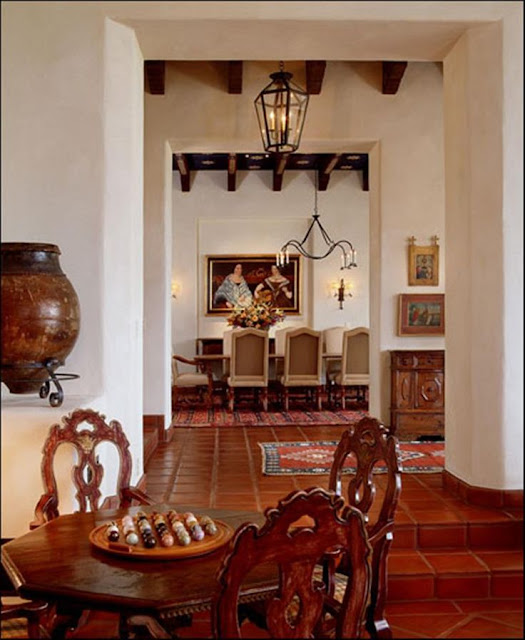 "Modern Hollywood Whitewashing: Eye For Design: Decorate Spanish Colonial ""Old Hollywood"