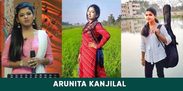 Arunita Kanjilal's early age images