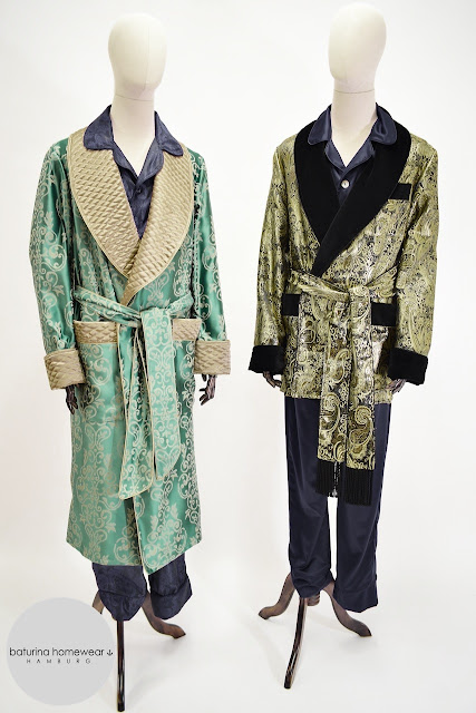 mens silk dressing gown pajamas paisley robe quilted long warm velvet smoking jacket