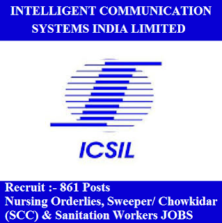 Intelligent Communication Systems India Limited, ICSIL Delhi, ICSIL, ICSIL Admit Card, Admit Card, icsil logo