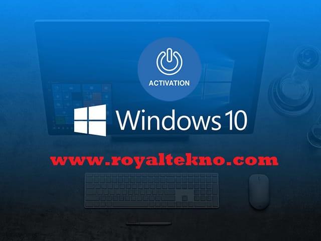 Cara Aktivasi Windows 10 terbaru