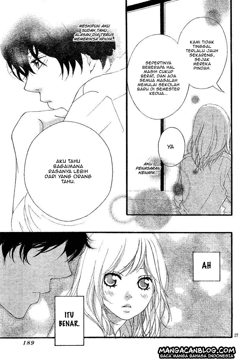 Ao Haru Ride Chapter 17-28