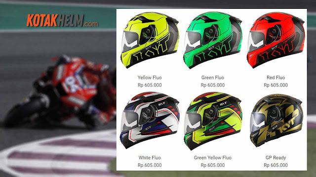 Pilihan warna KYT K2 Rider
