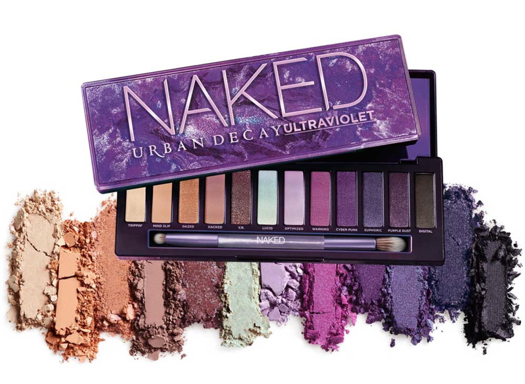 Una nueva NAKED llega a la familia Urban Decay... Acaba de aterrizar Ultraviolet Eyeshadow Palette