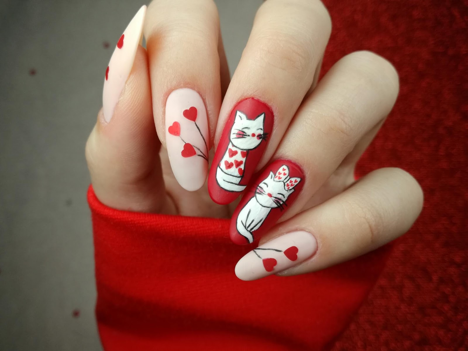 paznokcie w koty