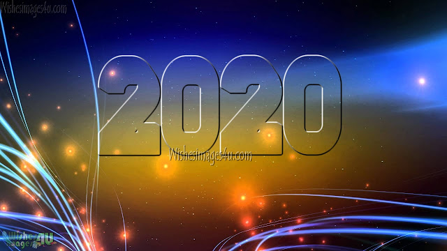 Happy New Year 2020 Desktop Sparkling Background Photos