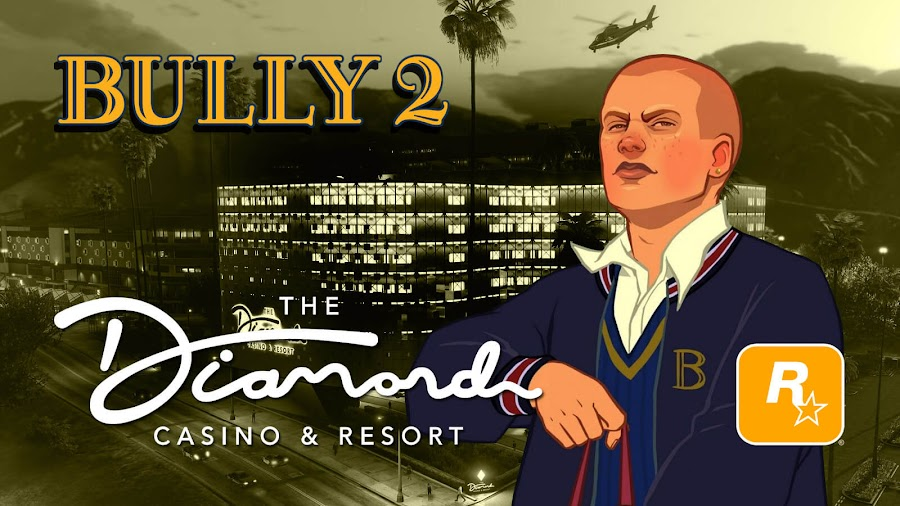 rockstar games tease bully 2 theory gta online diamond casino and resort update