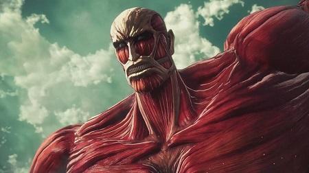 The Colossus Titan in Attack on Titan