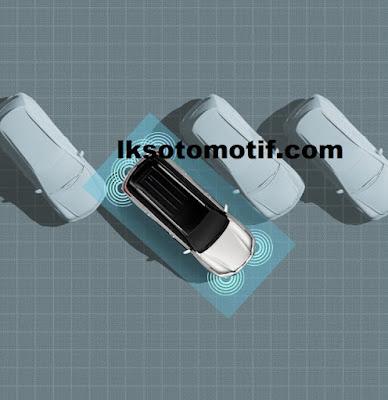 teknologi parking sensor  pada Toyota Fortuner 2020