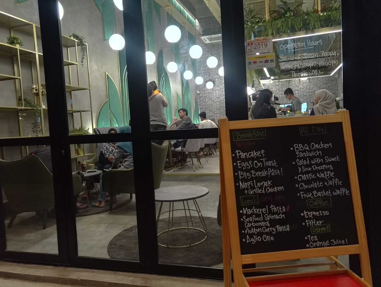 tempat makan best di cayberjaya Alcea cafe