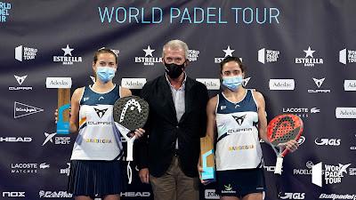 Paula y Ari inauguran la nómina de campeonas de 2021