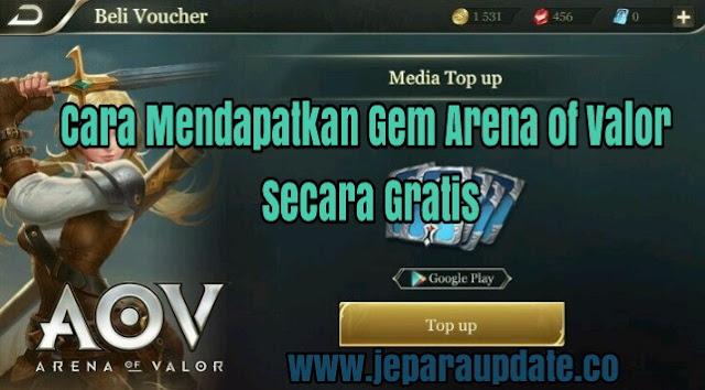 Cara Mendapatkan Gem Arena of Valor Secara Gratis