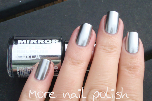 More Nails Polish Layla Mirror Effects Part 1