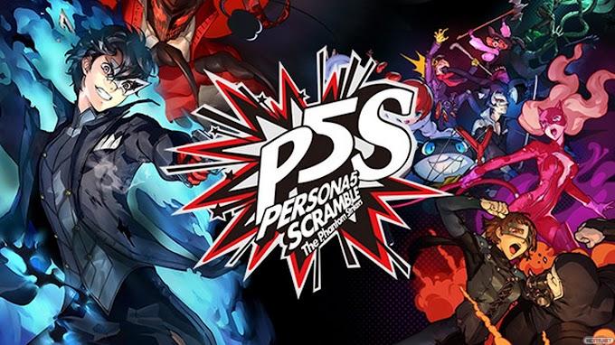 Persona 5 Scramble tem data de lançamento ocidental e porte para a Steam vazados
