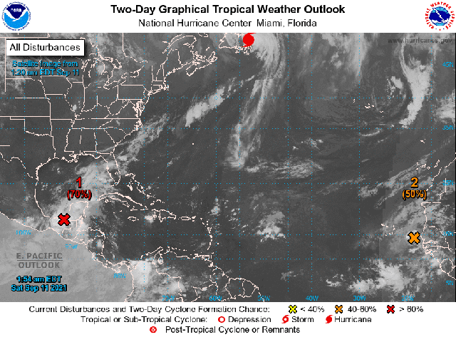 Seguirán las lluvias fuertes al norte, noroeste y sur de Yucatán
