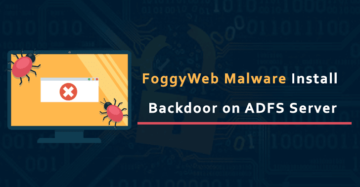 New FoggyWeb Malware  Attack & Install a Backdoor On Active Directory FS Servers