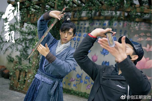 Live Action Sword Dynasty filming Li Xian