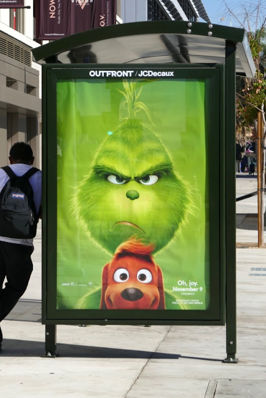 Grinch movie poster