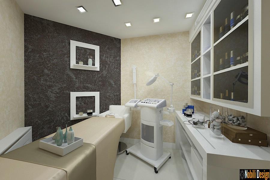 Design interior salon coafor infrumusetare in Bucuresti - Amenajare salon cosmetica Bucuresti.