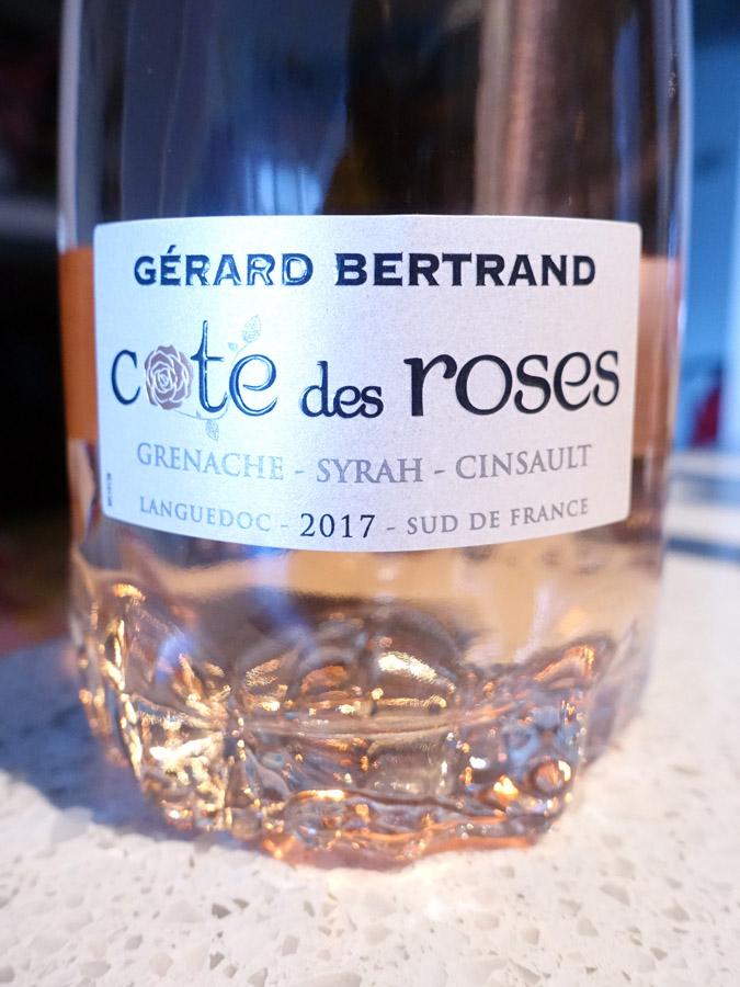 Gérard Bertrand Côte des Roses Rosé 2017 (89 pts)