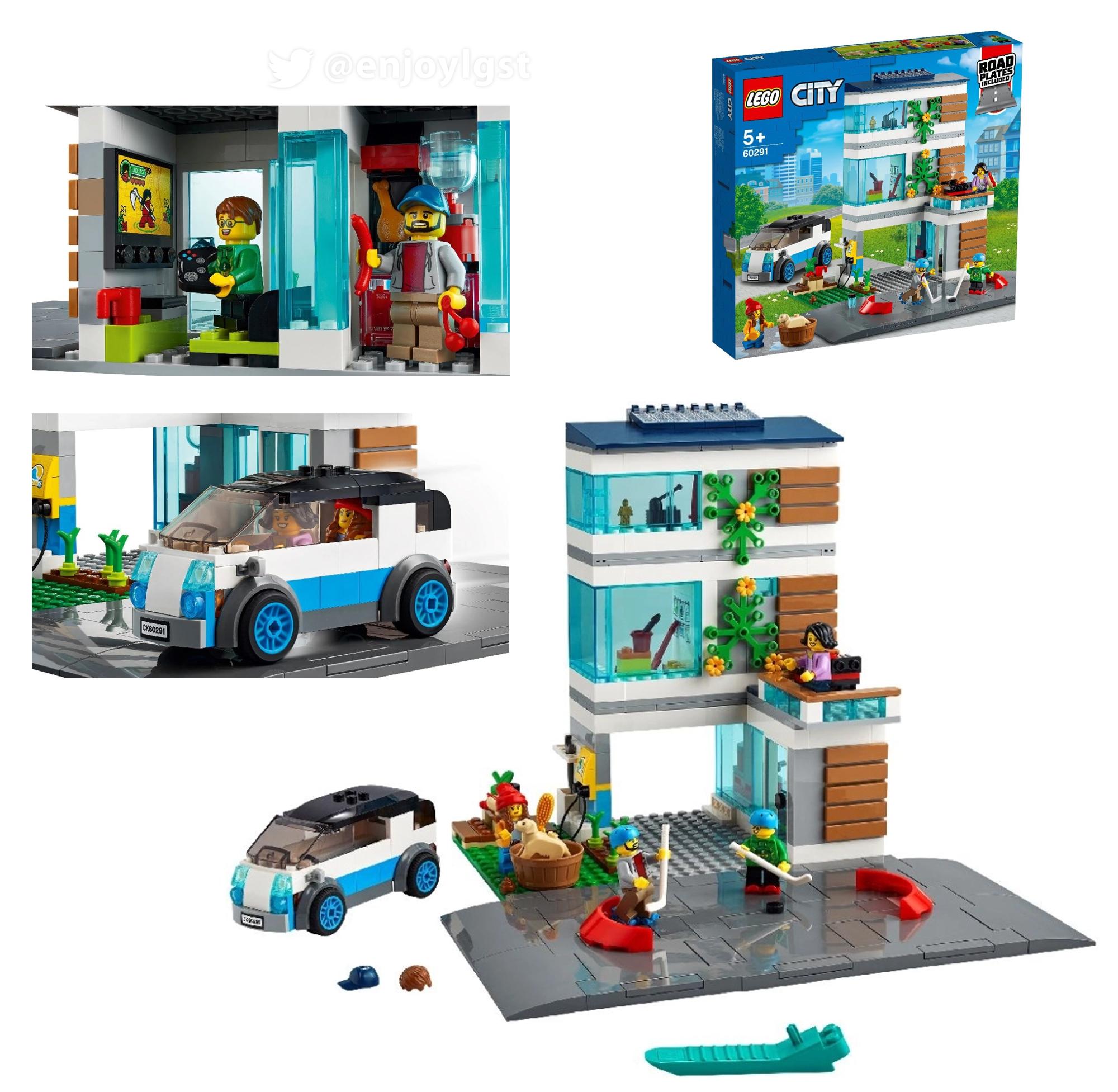2021年レゴシティ新製品第1弾情報!(ポリスと消防以外):みんな大好きレゴ定番シリーズ!