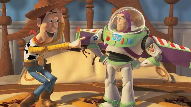 Buzz Lightyear in Toy Story