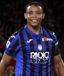 Atalanta's top striker, the Colombian Luis Muriel