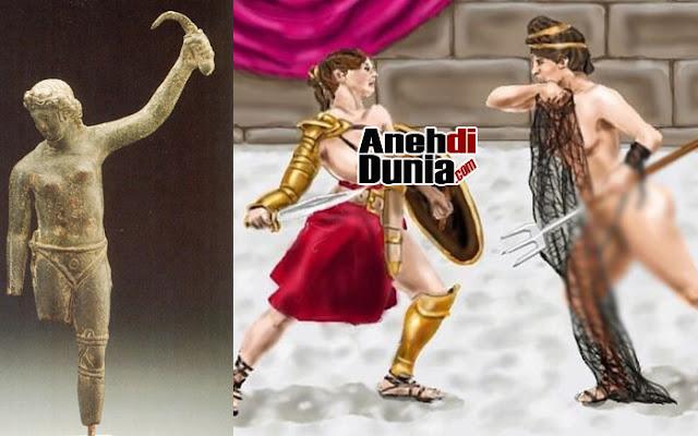 Bertarung Gladiator Wanita