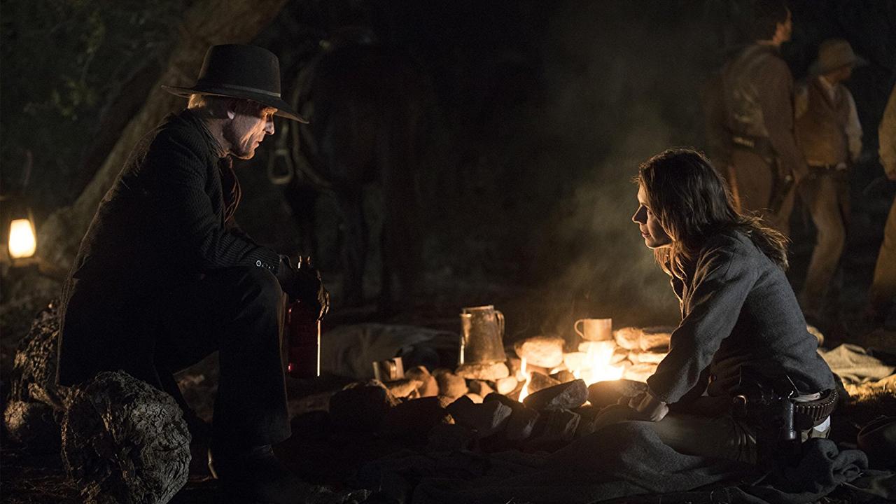 Fotografía de William y Grace en el 2x06 de Westworld, Phase Space