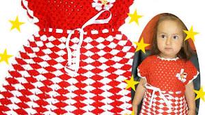 Vestido Crochet para Nenas / Tutorial en Español