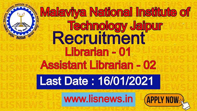 Librarian, Assistsnt Librarian at Malaviya National Institute of Technology Jaipur