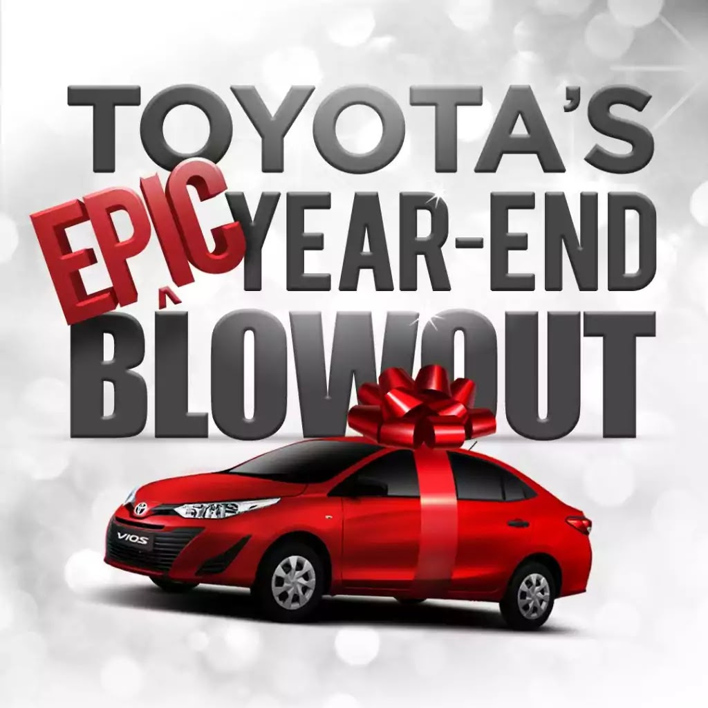 Toyota Epic Year-End Blowout