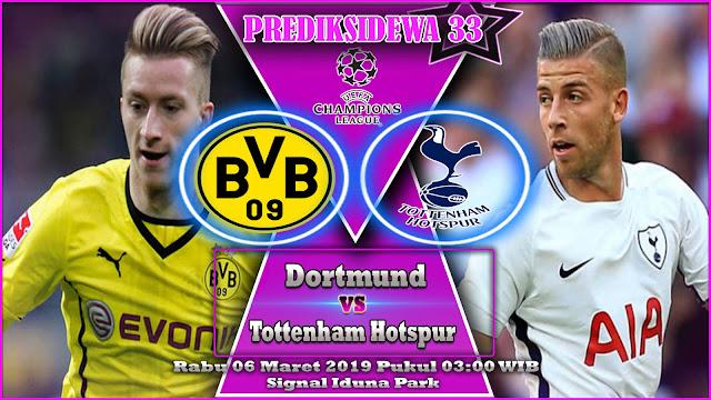 Prediksi Dortmund vs Tottenham Hotspur 06 Maret 2019