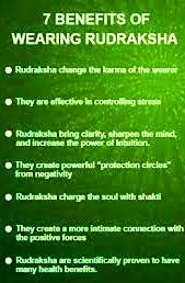 benefits of wearing rudraksha