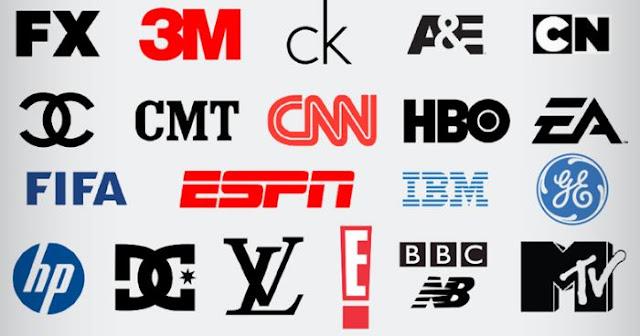 contoh logo huruf keren dan simpel