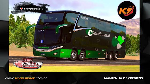 PARADISO G7 1800 DD 8X2 - VIAÇÃO CONTINENTAL BLACK