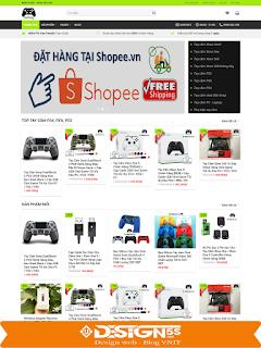 Template blogspot bán hàng phụ kiện điện tử công nghệ VSM36