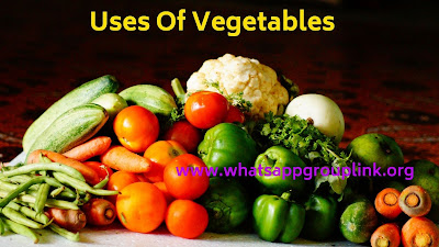 Uses Of Vegetables