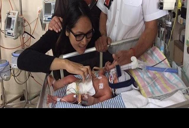 Bayi Prematur Lahir Selamat di Tengah Penerbangan