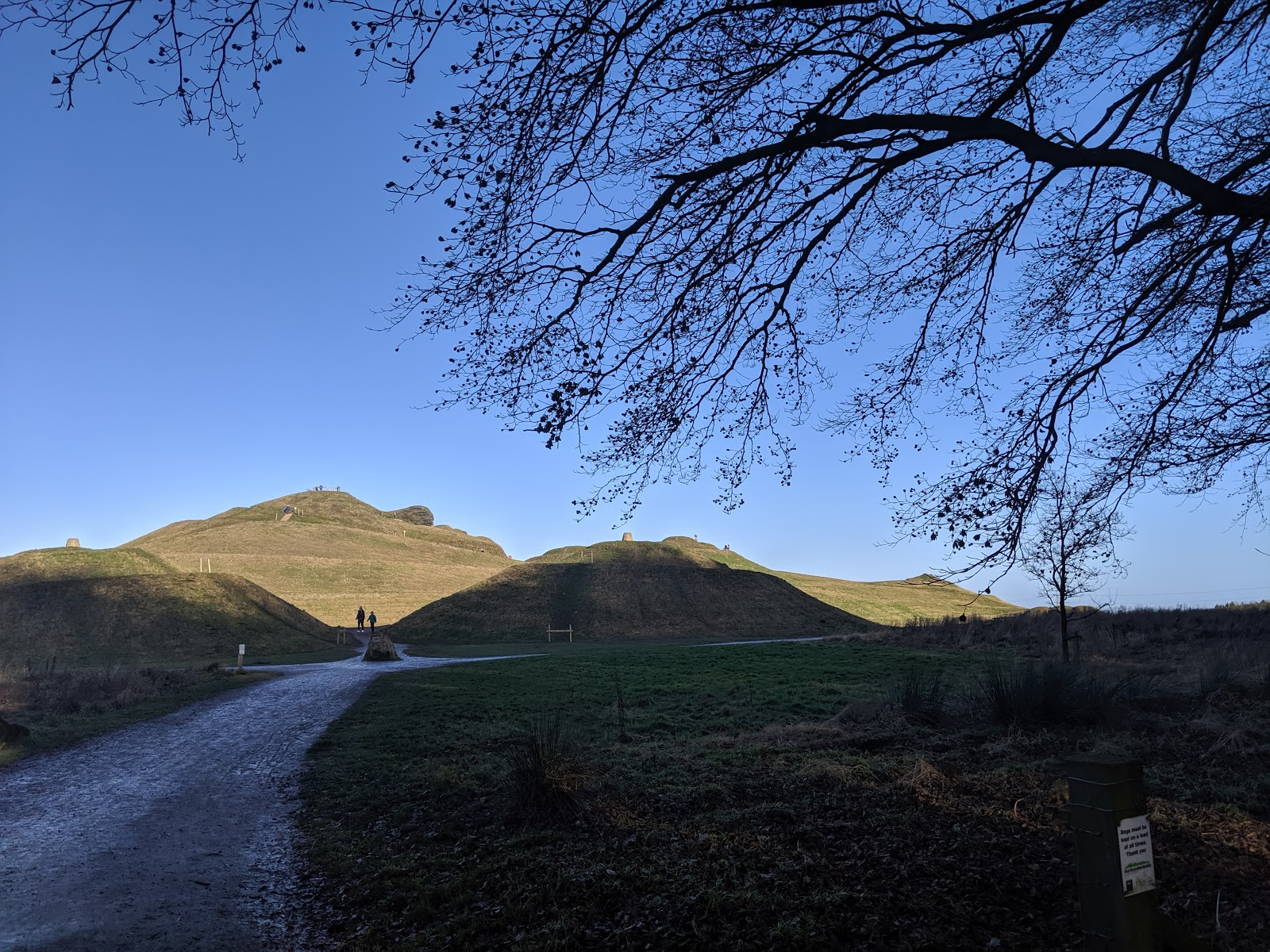 A Guide to Visiting Northumberlandia - pathway