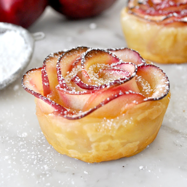 Apple Rose Pastry