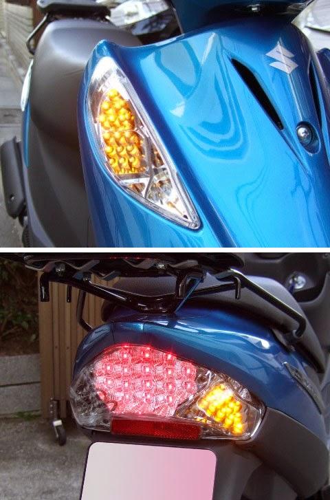 DCR LEDウインカー&テールランプ