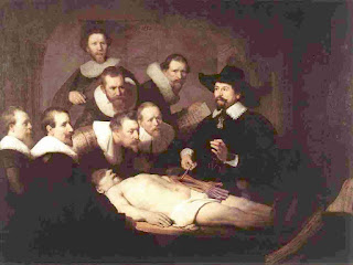 Rembrandt _anatomy lecture