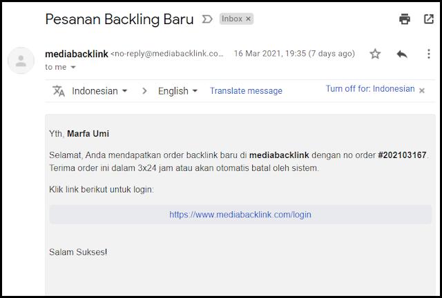 orderan di mediabacklink