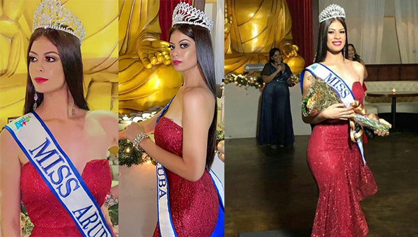 Helen Hernandez es Miss Universe Aruba 2020